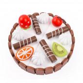 Торт деревянный на магнитах