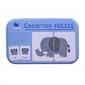 """Логические карточки в коробочке """"Животные"""""""