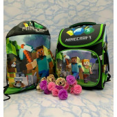 Рюкзак школьный Minecraft Майнкрафт
